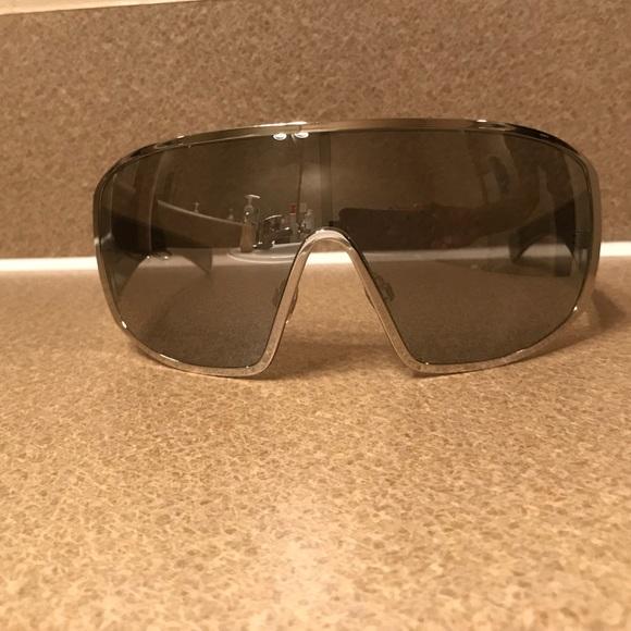 12fd7a88300 CHANEL Accessories - Chanel Silver Shield Sunglasses A71234 L4768 Women